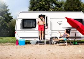 Caravans, campers & vouwwagens