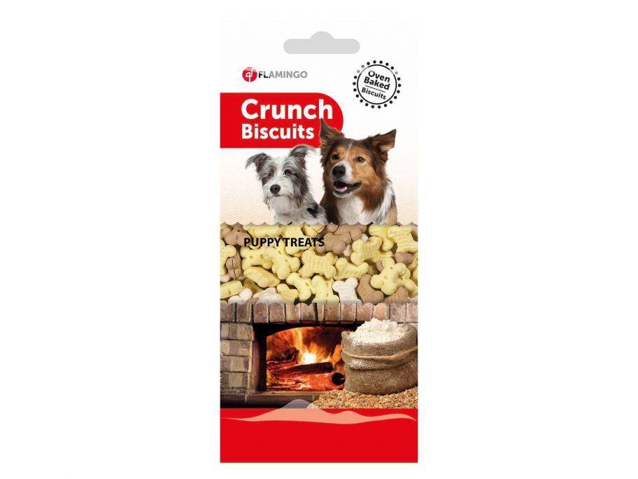 Flamingo Crunch Biscuits Puppy Treats hondenkoekjes
