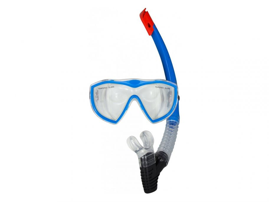 Rucanor Egmond III Senior snorkelset blue