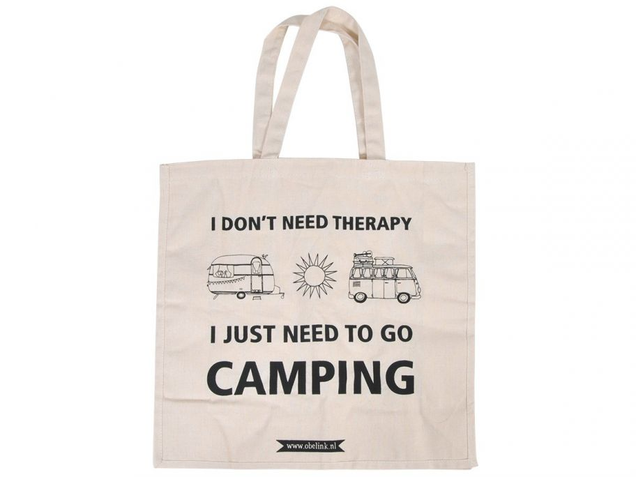 Obelink don't need therapy canvas tas