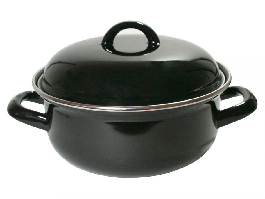 Emaille braadpan