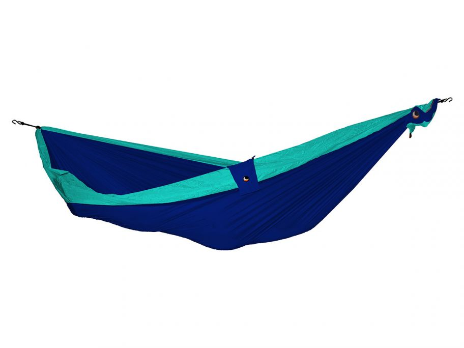 Ticket to the moon 1 persoons hangmat royal blue/turquoise
