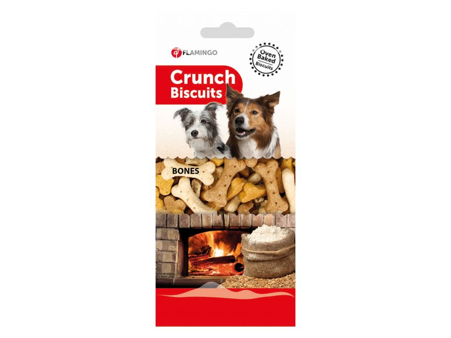 Flamingo Crunch Biscuits Bones hondensnoepjes