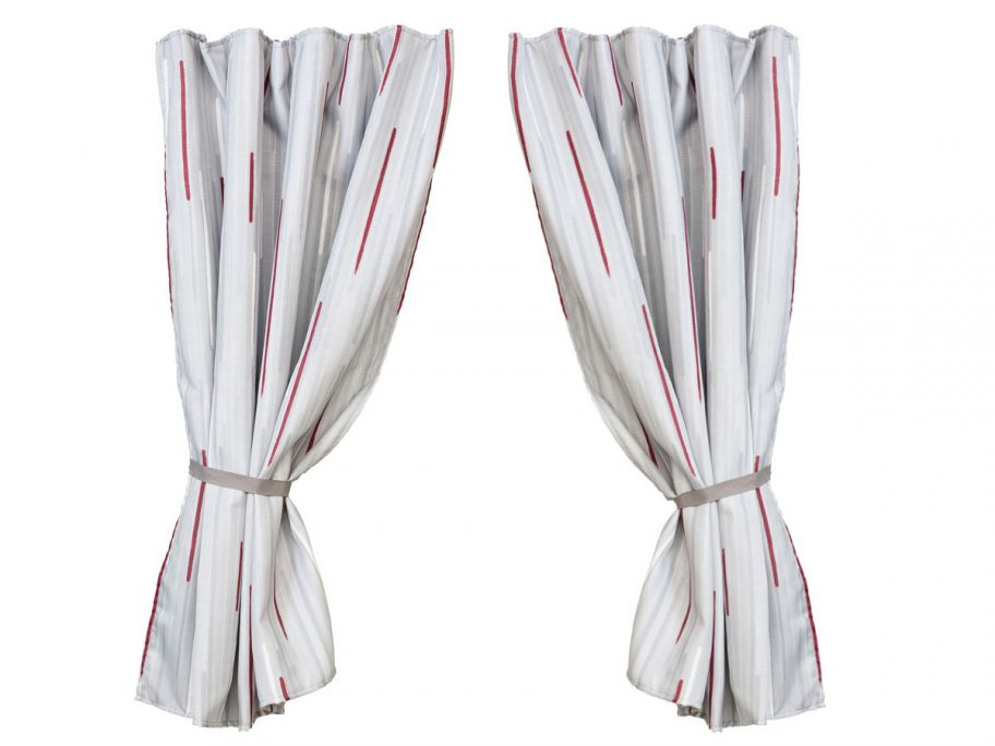 Fiamma Curtains Kit Smoke gordijnen 6 stuks