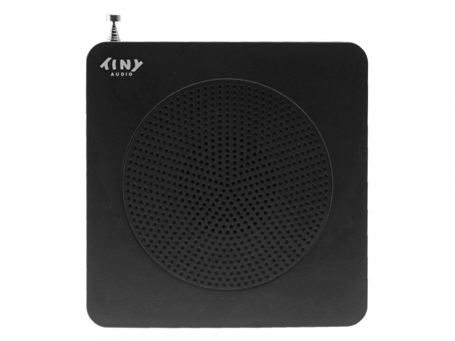 Tiny Audio Travel DAB+ radio zwart