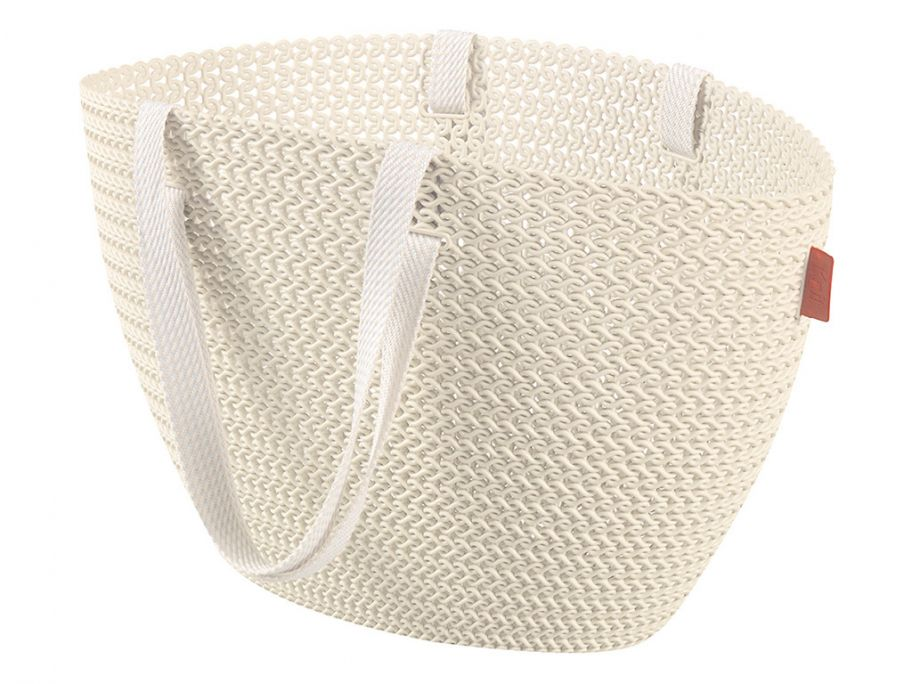 Curver Knit Bag Emily Oasis white