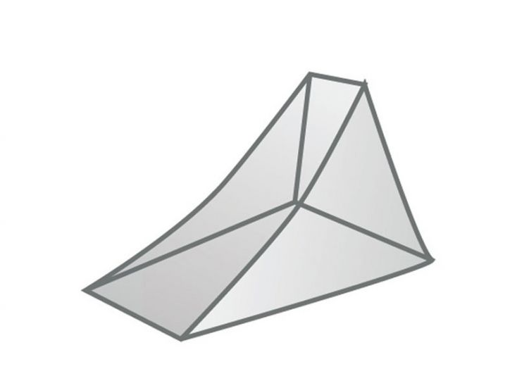 TravelSafe Triangle 1 persoons klamboe