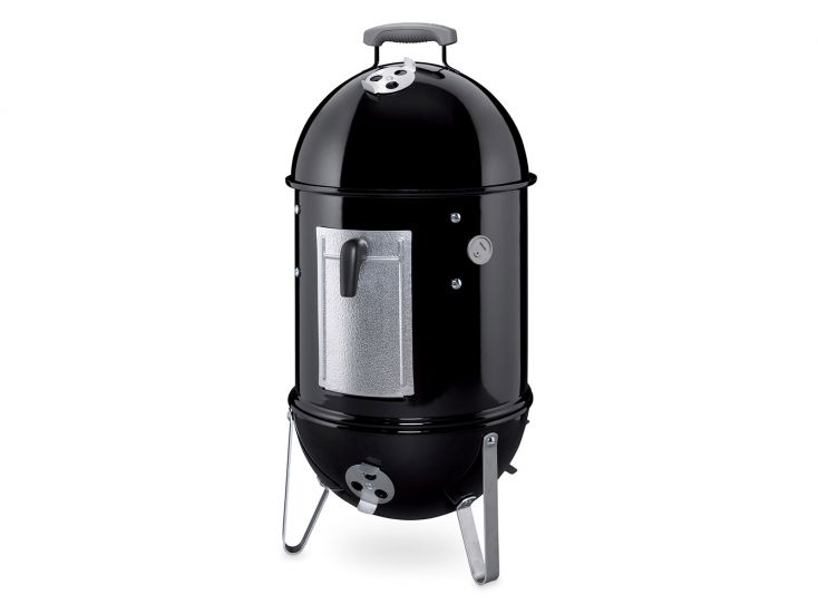 Weber Smokey Mountain Cooker rookbarbecue