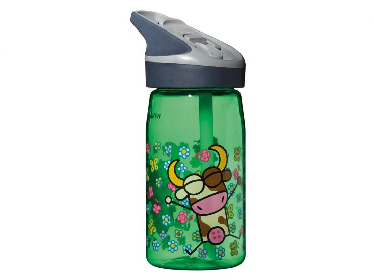 Laken Tritan bottle Green Vacaline drinkfles