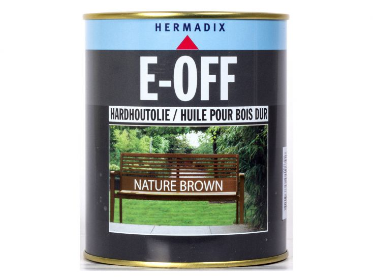 Hermadix E-off nature brown hardhoutolie