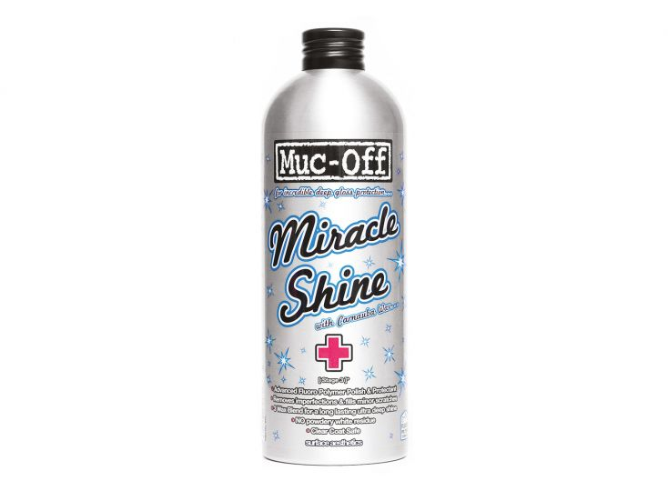 Muc-Off miracle shine polish wax