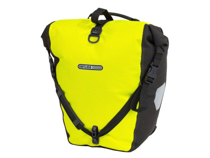 Ortlieb Back-Roller High Visibility Single fietstas