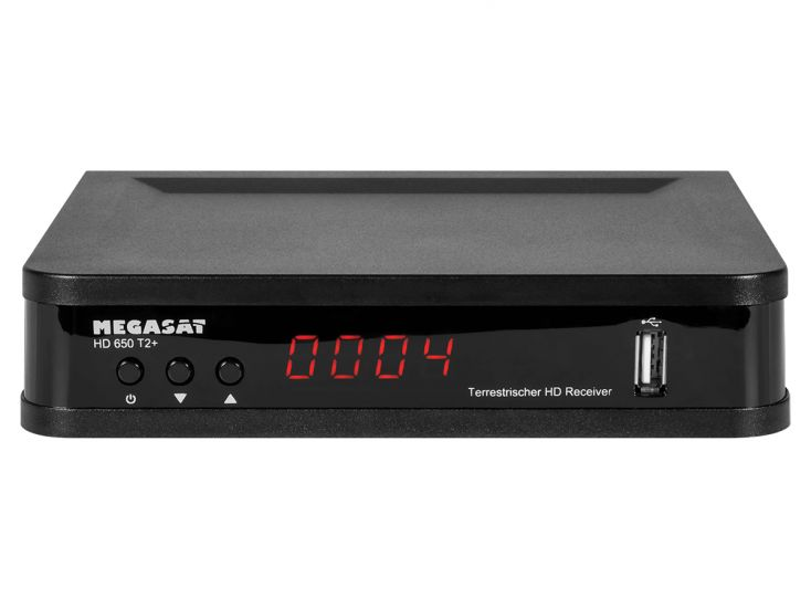 Megasat HD 650 T2+ receiver
