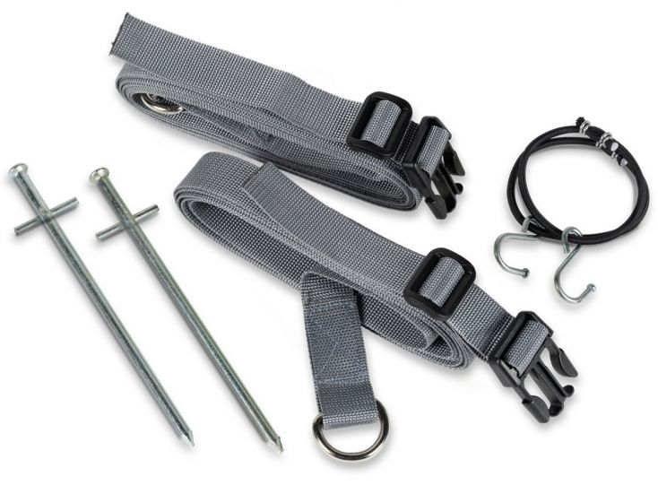 Kampa Storm Tie Down Kit Grey stormband