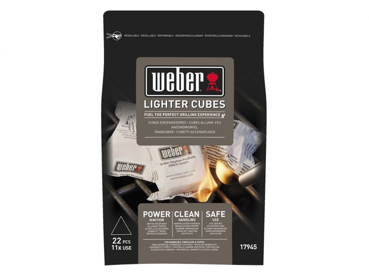 Weber power ignition aanmaakblokjes
