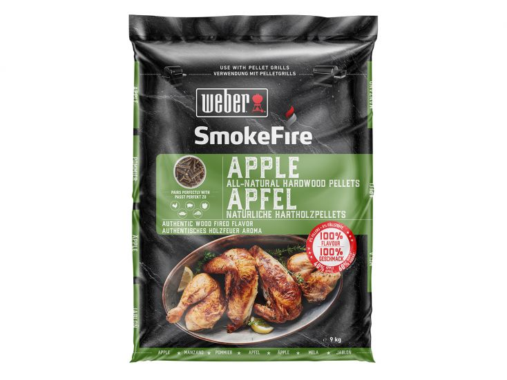Weber apple barbecue houtpellets