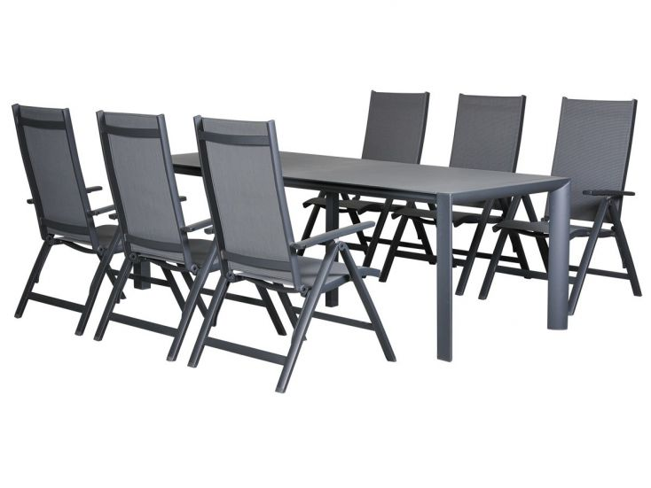 Outdoor Feelings Grigio Valles diningset